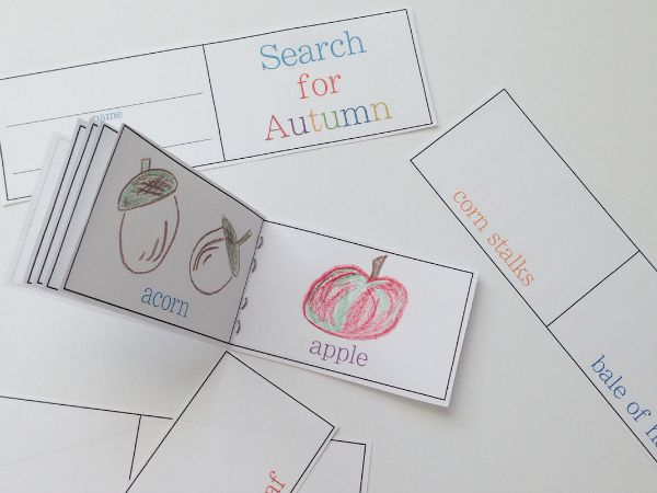 search for autumn printable