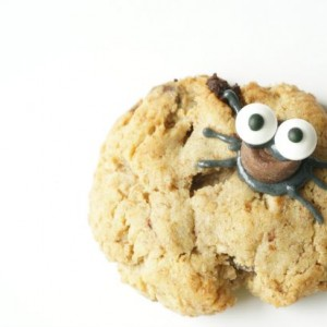 spider cookies eyes
