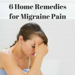 6 home remedies for migraine pain fb