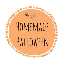 Homemade Halloween button