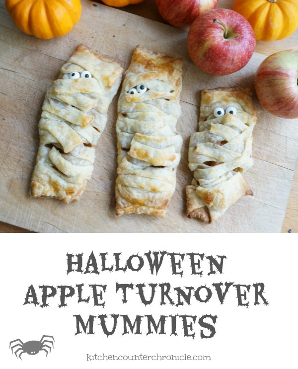 Halloween Apple Turnover Mummies