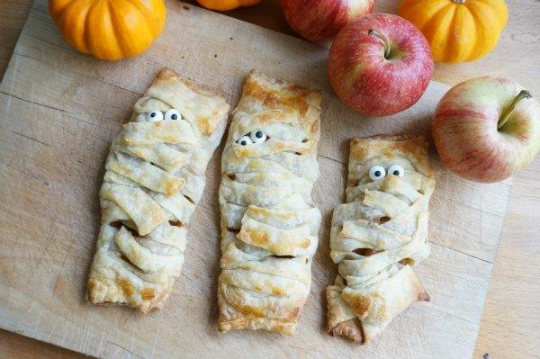 apple turnover mummies