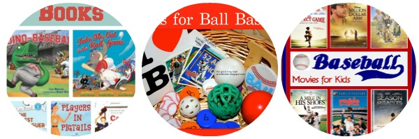 baseball movies and books for kids