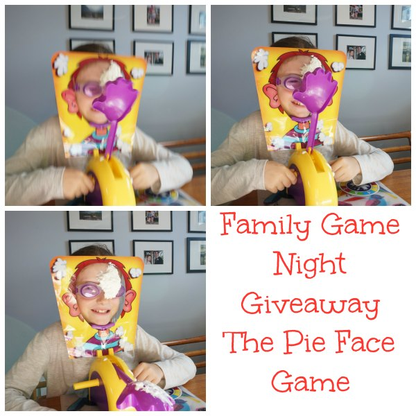 Pie Face Family Game Night {Giveaway}