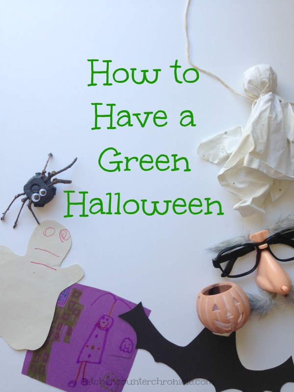 how to have a green halloween