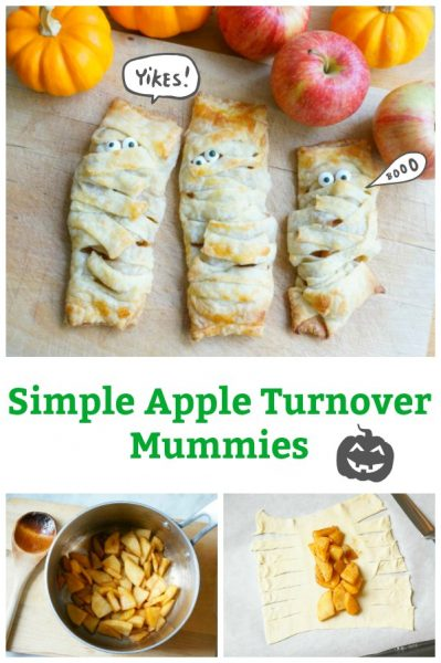 simple apple turnover mummy