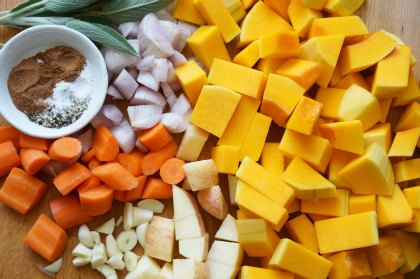 slow cooker butternut squash soup ingredients
