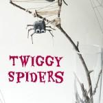 Twig Spider Craft