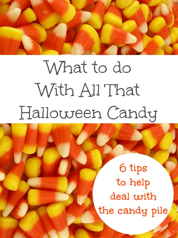 How to Deal with All the Halloween Candy