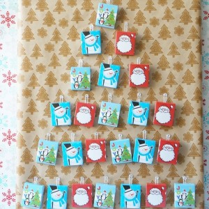 christmas cookie advent calendar whole
