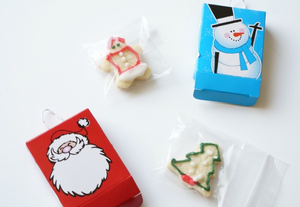 christmas cookie advent calendar cookies in baggies