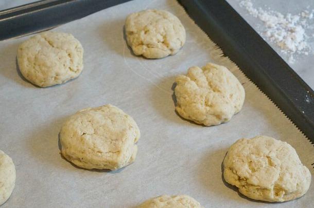 eggnog cookies baked
