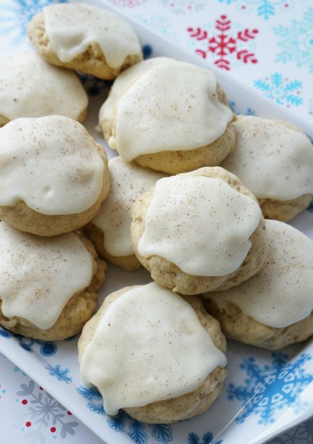 eggnog cookies christmas cookies