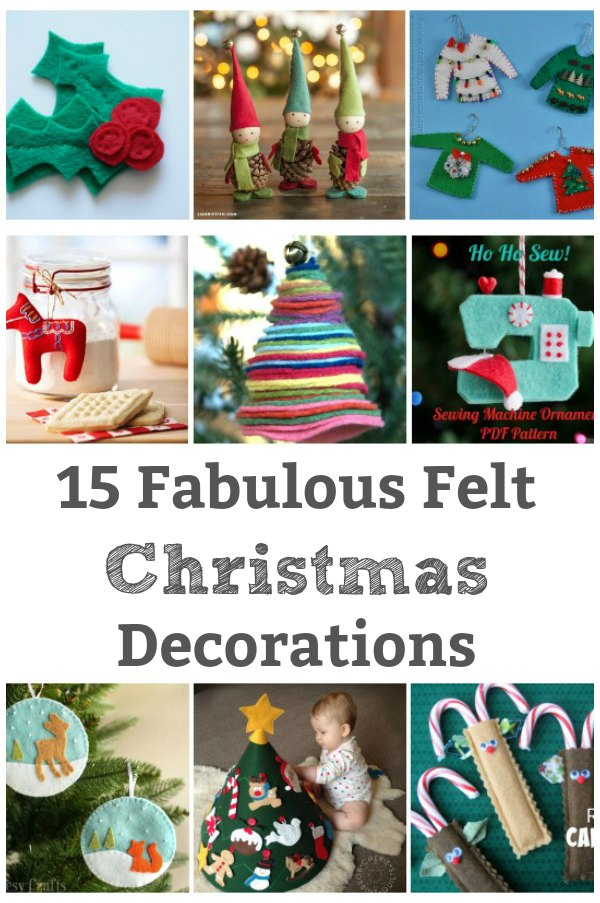 felt Christmas decoration to make