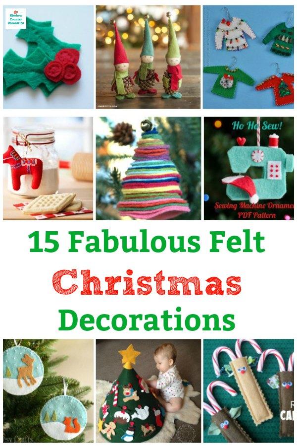 felt christmas ornaments to make