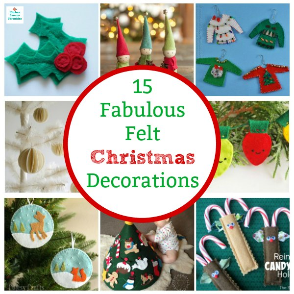 felt christmas decorations to make