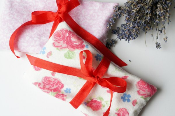 lavender eye pillow how to make