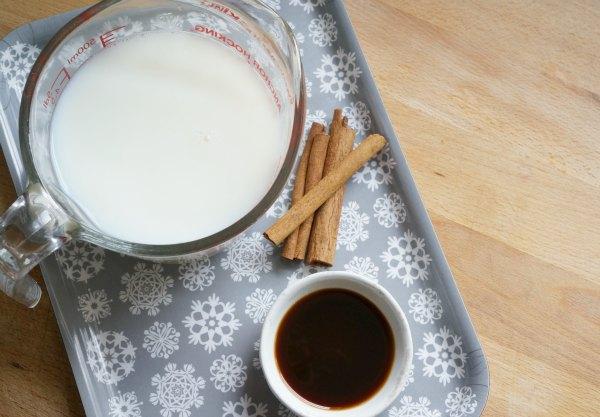 vanilla steamed milk ingredients