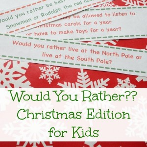 would you rather Christmas game for kids fb