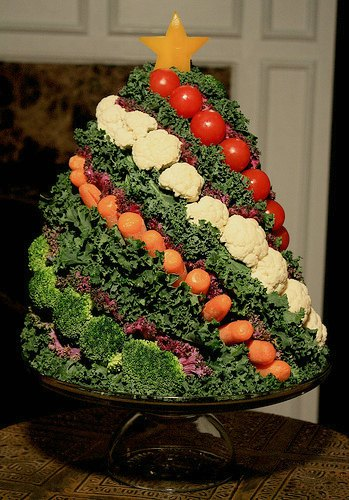 10 Christmas Vegetable Platter Ideas , Festive and Healthy