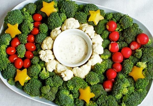 joy veggie platter