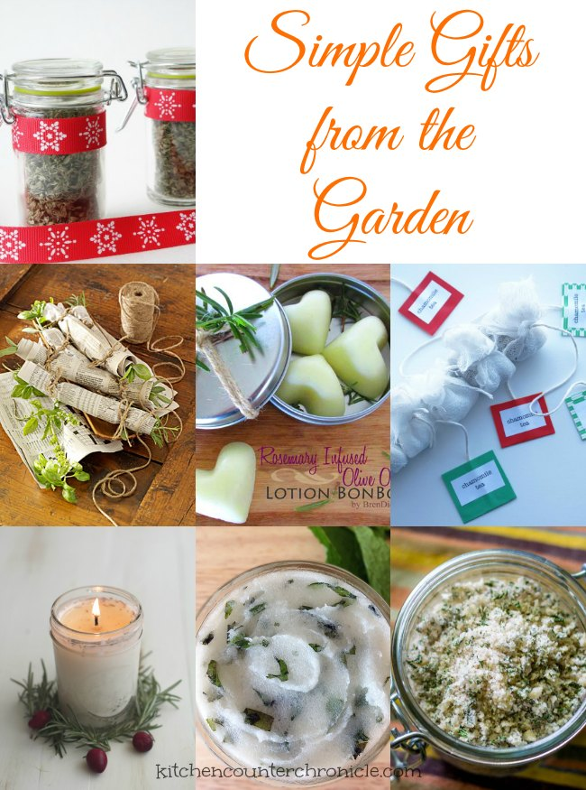 Simple Gifts From the Garden – The Gift of Thyme