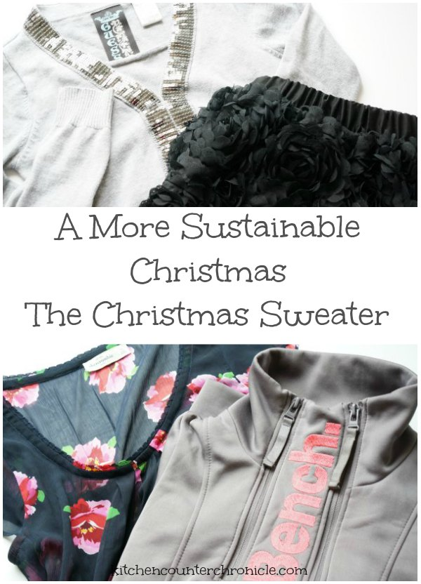 A Sustainable Christmas – The Christmas Sweater
