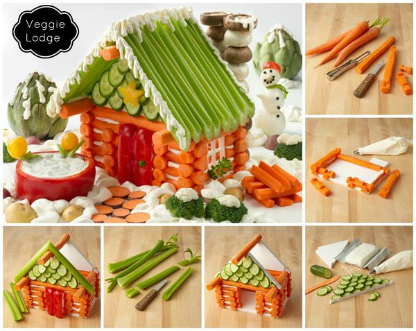 vegetable lodge gingerbread house