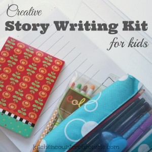 creative story writing kit for kids