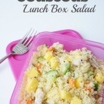 Mango and Chicken Couscous Lunch Box Salad