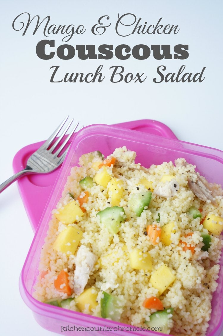 Mango and Chicken Couscous Salad