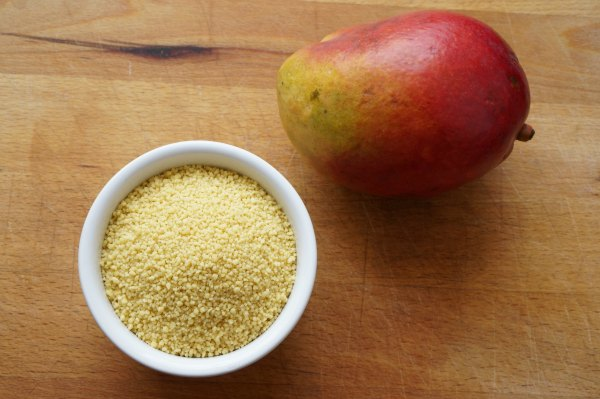 mango and couscous