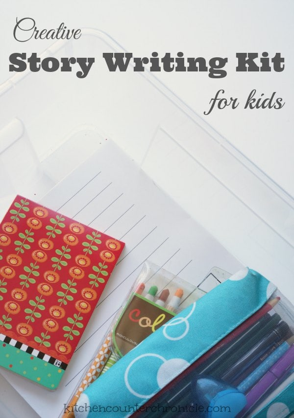 story writing kit for kids