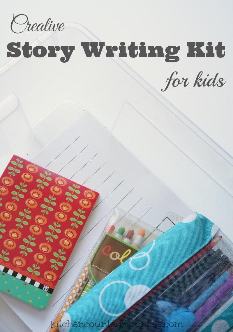 Creative Story Writing Kit for Kids