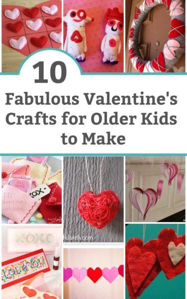 valentine's crafts for older kids