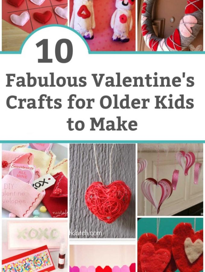 valentine's crafts for older kids