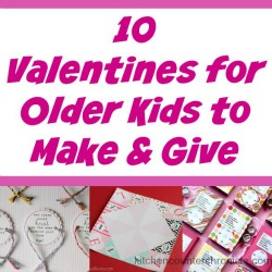 valentine's for older kids to make