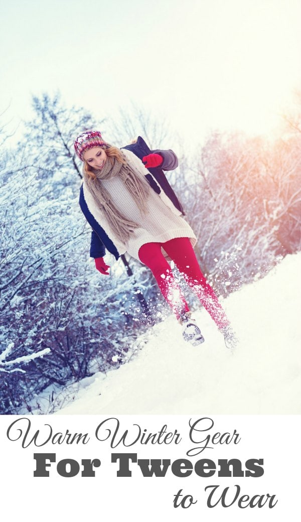 Winter Gear for Tweens to Wear