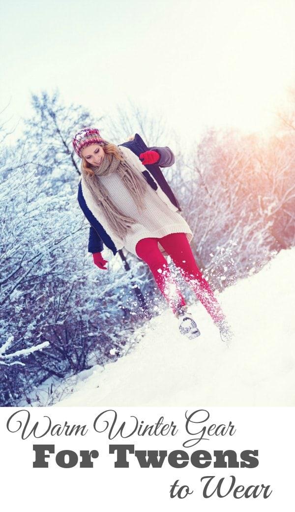 Winter Gear for Tweens to Wear