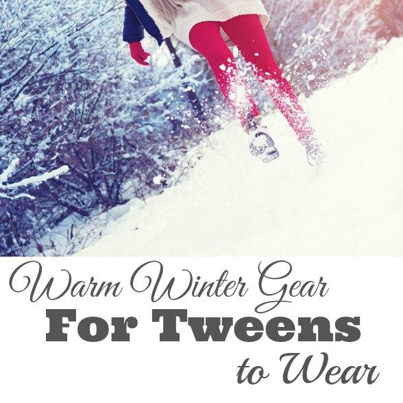 warm winter gear for tweens for wear