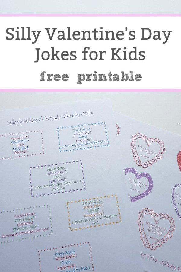 valentine's day jokes for kids