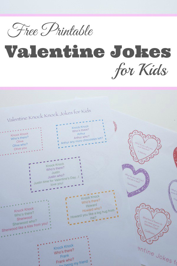 Free Printable Jokes for Kids