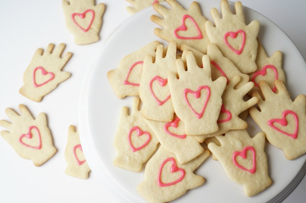 helping hand cookies