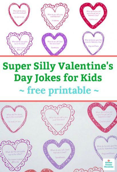valentine's day jokes for kids printable pin