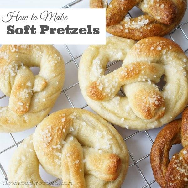 How to Make Soft Pretzels fb