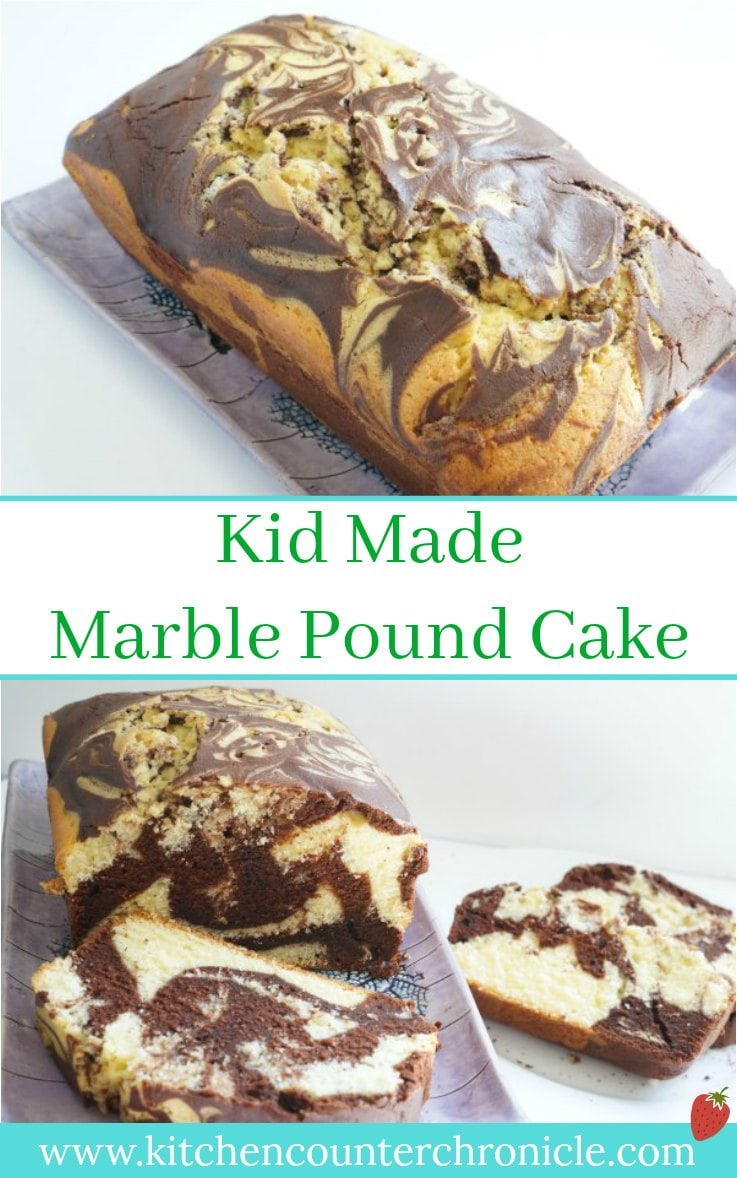 Chocolate or vanilla? You don't need to pick a favourite with this delicious recipe for marble pound cake - so simple the kids can help make it. | Cake Recipe | Chocolate Cake Recipe | Family Dessert Recipe |