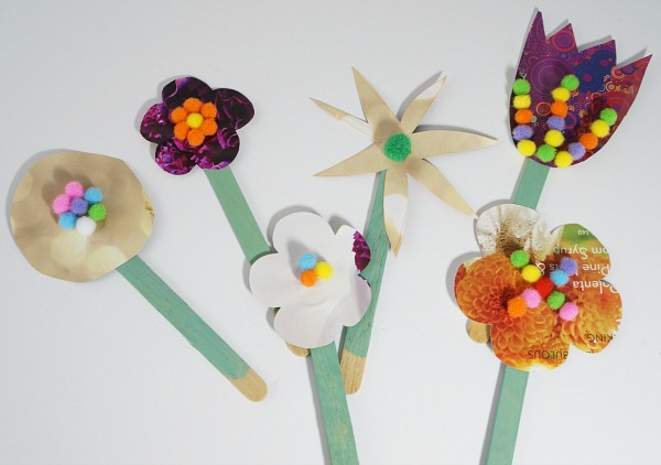 craft stick flowers