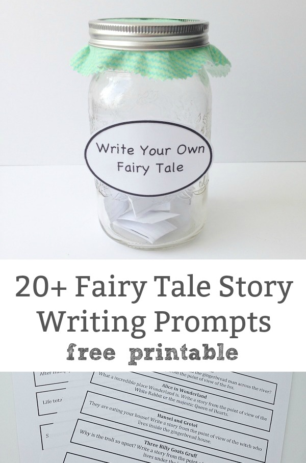 fairy tale story writing prompts
