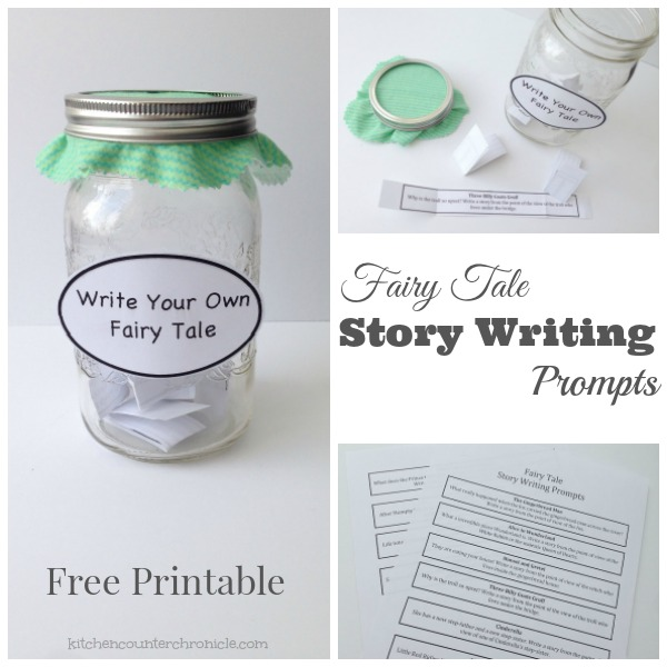 Fairy Tale Story Writing Prompts fb