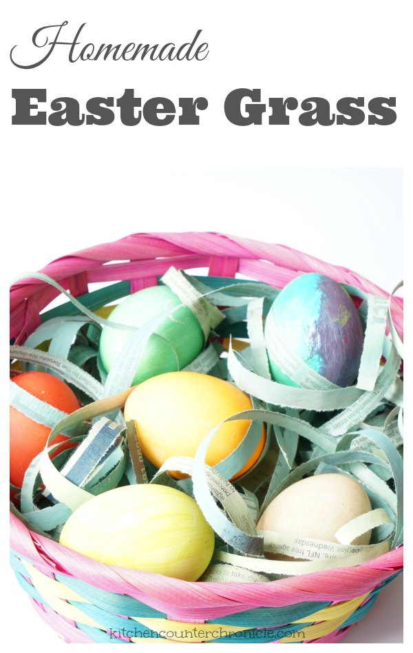 How to Make Homemade Easter Grass